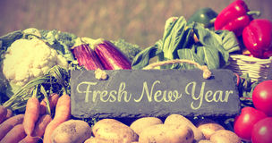 Fresh New Year Royalty Free Stock Photography