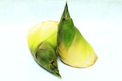 Fresh, newly unearthed bamboo shoots. Fresh, newly unearthed bamboo shoots, green appearance, was clean, showing it is fresh Royalty Free Stock Photos