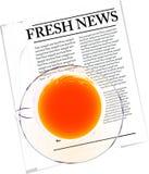 Fresh news Royalty Free Stock Photography