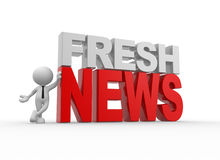 Fresh news Stock Photos