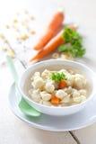 Fresh noodle soup Stock Photos