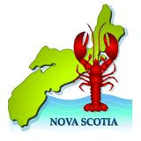 Fresh Nova Scotia Lobster Royalty Free Stock Photos