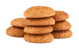 Fresh oatmeal cookies Royalty Free Stock Image