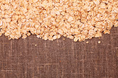 Fresh oats Royalty Free Stock Photo