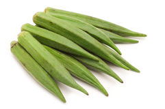 Fresh okra Royalty Free Stock Photography