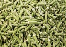 Fresh okra Stock Photo