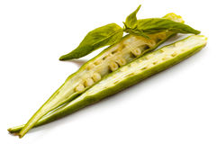 Fresh okra Royalty Free Stock Photo