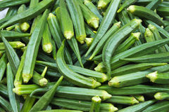 Fresh (okra) Royalty Free Stock Image