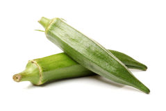 Fresh okra Stock Photography