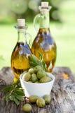 Fresh olive oil Stock Photos