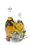 Fresh olive oil Stock Photos