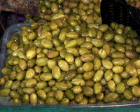 Fresh Olives For Sale Royalty Free Stock Images
