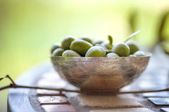 Fresh Olives Royalty Free Stock Photography