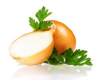 Fresh onion Stock Photos