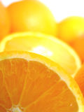 Fresh orange. Fruit, vitamin and natural royalty free stock photography