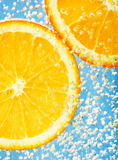 Fresh orange Royalty Free Stock Image