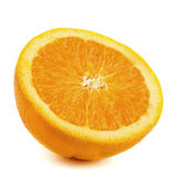 Fresh orange stock photography