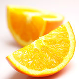 Fresh orange Stock Images