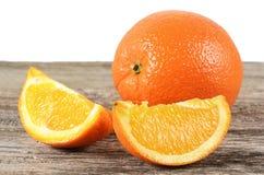Fresh orange  as a background Stock Image