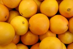 Fresh Orange Background Stock Image