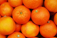 Fresh orange background and texture Royalty Free Stock Photography