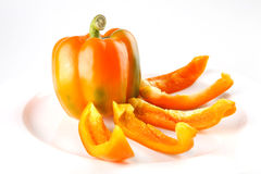 Fresh orange bell Royalty Free Stock Images