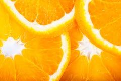 Fresh orange close up. Food ingredients. Fruits Royalty Free Stock Photography