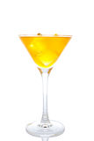 Fresh orange cocktail with ice Royalty Free Stock Images