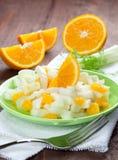 Fresh orange fennel salad Stock Image