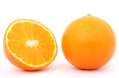 Fresh orange fruit Stock Images