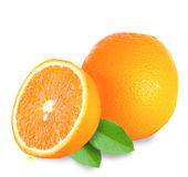 Fresh Orange Fruit Stock Photo