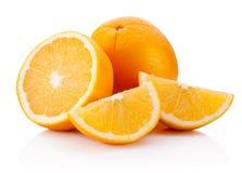 Fresh Orange fruit isolated on white background. Fresh Orange fruit isolated on a white background stock images