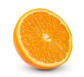 Fresh Orange fruit Slice rich with vitamins Royalty Free Stock Photography
