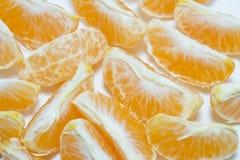 Fresh orange fruit  with white background Royalty Free Stock Photo