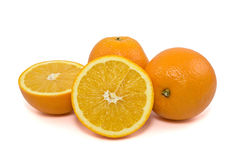 Fresh orange fruits Stock Images