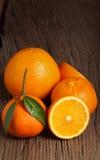 Fresh orange fruits Stock Image