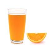 Fresh orange fruits and juice Royalty Free Stock Photos