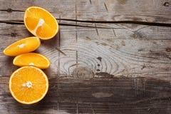 Fresh orange fruits Stock Photo