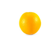 Fresh orange isolate on white background. Fresh orange isolated on white background front view royalty free stock images