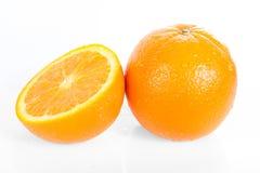 Fresh orange isolated Stock Image