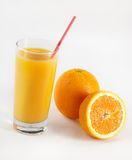 Fresh orange juce Royalty Free Stock Photos