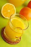 Fresh Orange Juice Royalty Free Stock Image