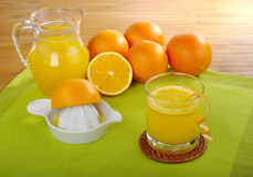 Fresh Orange Juice Royalty Free Stock Photography