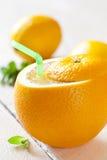 Fresh orange juice Royalty Free Stock Photography