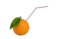 Fresh Orange Juice. Full of natural goodness isolated on white Royalty Free Stock Photo