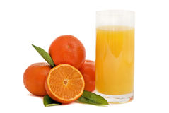 Fresh Orange juice Royalty Free Stock Photos