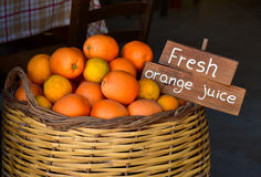 Fresh orange for juice Stock Images