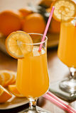 Fresh Orange Juice Breakfast Royalty Free Stock Photo