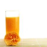Fresh Orange juice in a glass Royalty Free Stock Photo