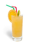 Fresh orange juice with ice Royalty Free Stock Photography